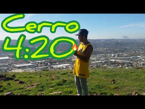 Fumando Marihuana en el Cerro Colorado, (Tijuana Baja California 2019) [+18]