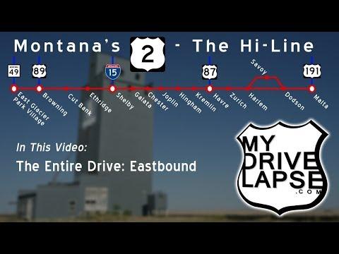 East Glacier Park to Malta, Montana: US 2 Hi-Line, A Long Drive