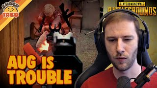 The AUG is a Roller Coaster ft. Lurn - chocoTaco PUBG Duos Gameplay