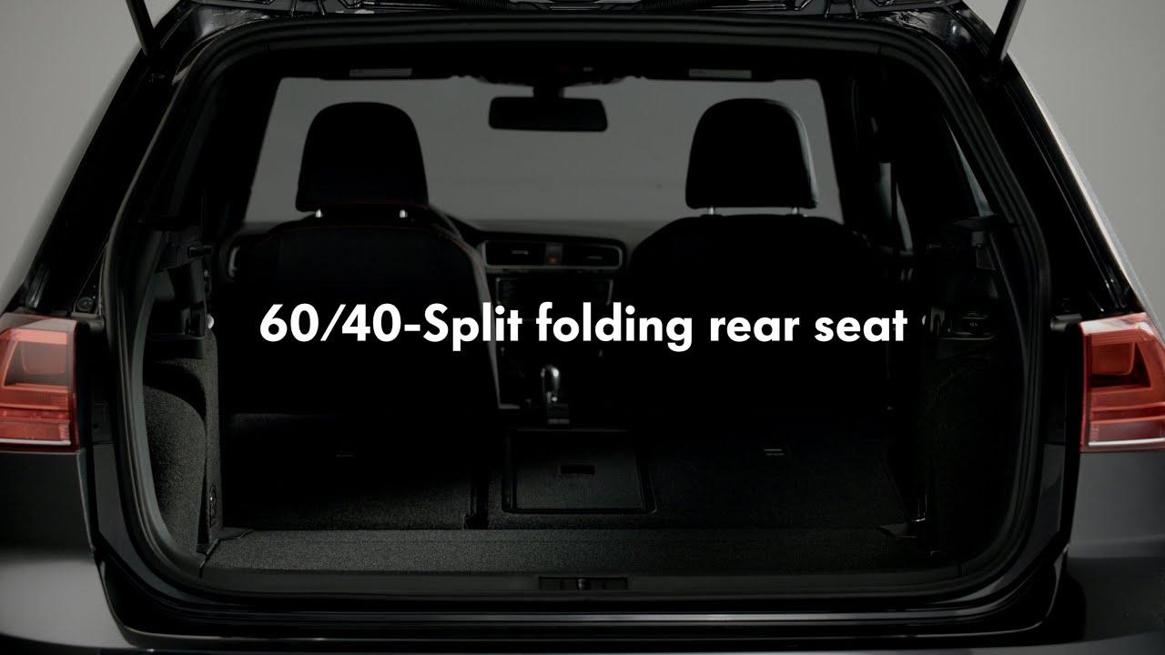 2015 Volkswagen Golf GTI - 60/40-Split folding rear seat ...