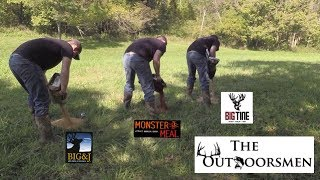 BEST DEER ATTRACTANT EXPERIMENT(1/2) | W/ Big&J, Monster Meal, And Big Tine - The Outdoorsmen