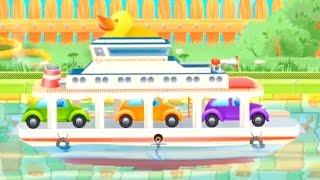 Мультфильм про кораблик. Детское приложение ''Кораблики. Полный Вперёд''