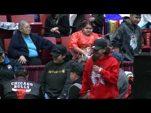 Ruben Little Head's Drum Roll Call Game - Black Hills Pow Wow 2017