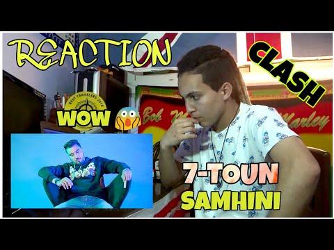 7-TOUN - SAMHINI (MUSIC VIDEO) [REACTION] | Clash Dizzy Dros