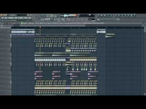Calvin Harris - This Is What You Came For(R3hab & Henry Fong Remix) (Gerson Remake) FL STUDIO