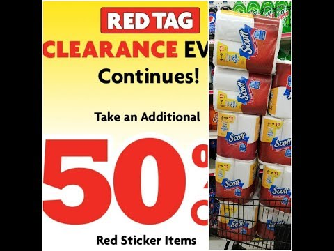 Scott's  Paper Towels🤑RED TAG 🔖CLEARANCE EVENT🚨 @Family Dollar🤑 No $5 Off $25 NEEDED😉