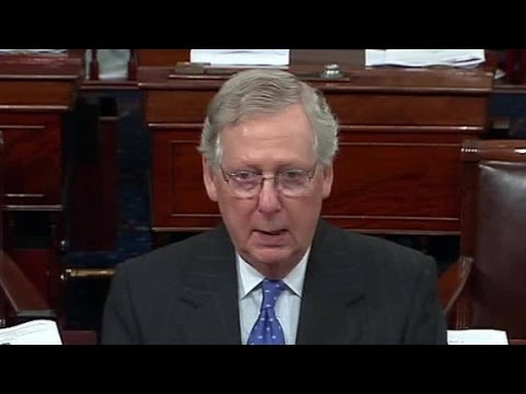 McConnell: Senate won't consent on Supreme Court nom...