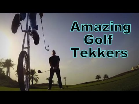 Amazing Golf Tekkers - The Golf Trick Shot Boys, KC & Swainey.