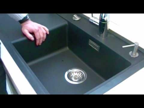 Blanco silgranit køkkenvask   youtube
