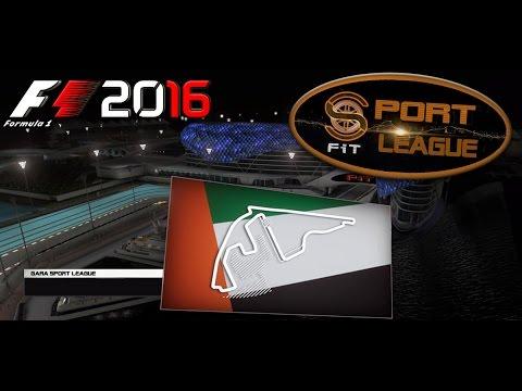 Sport League F1 2016 #21 GP Abu Dhabi Yas Marina 01.05.17 - Live Streaming 1080p