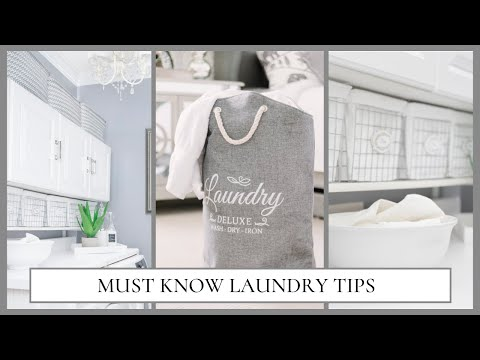 Laundry Tips You Didn't Know You Needed