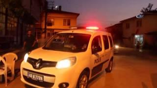 Kavga İhbarına Giden Polise Sürpriz