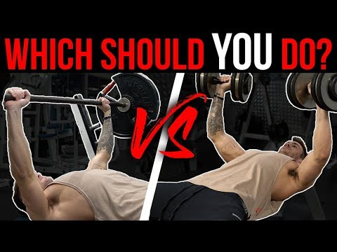 Barbell Bench Press vs. Dumbbell Bench Press (Which Should YOU Do?)