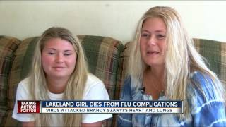 Lakeland teen visited by country music star, Tracy Lawrence, dies from complications due to the flu