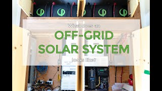 What does an off-grid solar system looks like? | Autonomous solar system, Off-grid cottage