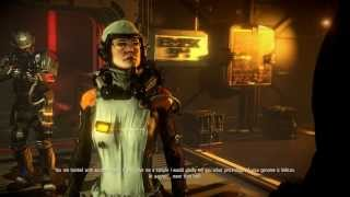 Killzone: Shadow Fall - Chap 3 The Doctor: Dr. Massar & Echo Chat Scene, Lucas Kellan in Space