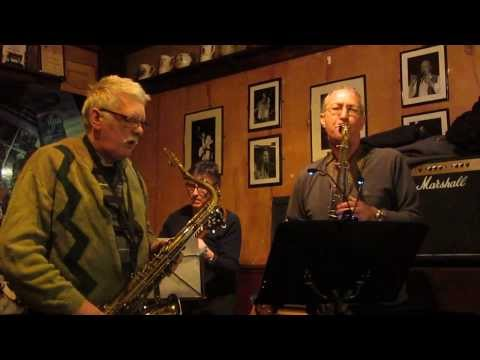 Tom Halsall tenor sax WALKIN