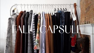My Complete Fall Capsule + Shoes, Accessories & Outerwear
