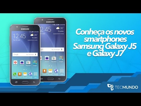 Samsung Galaxy J5 e J7 - TecMundo