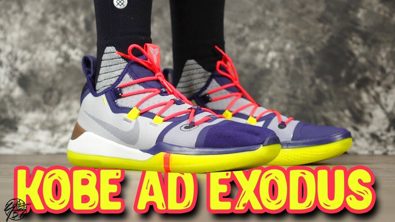 Nike Kobe AD Exodus First Impressions