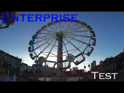 Enterprise Huss Test Fête Foraine de Cherbourg 2017