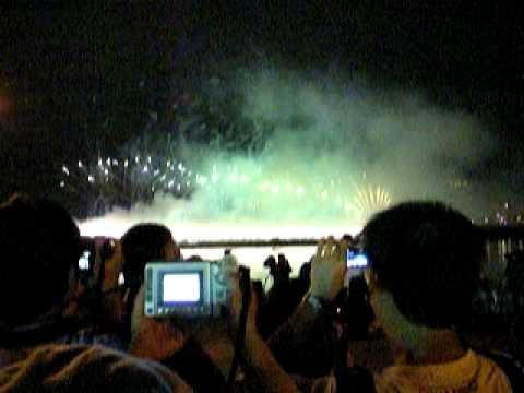 2011 Taipei Dadaocheng(大稻埕) Fireworks Festival-Taiwan 100th  Anniv.