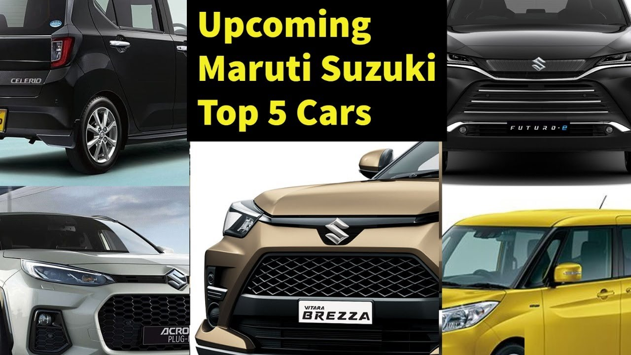2021 Maruti Suzuki Upcoming 5 New Cars With Launch Detailed Specifications Youtube