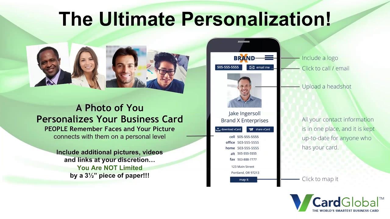 vCard Global Business Presentation - YouTube