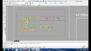 AutoCAD Aula 15 - Formatando a folha de desenho (MODEL SPACE E PAPER SPACE) thumbnail