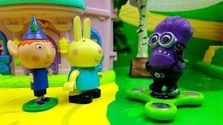 IL MINIONS E SCAPATO VIA DAL CINEMA , Episodio con Dora l'esploratrice , spinner fidget , giocattoli