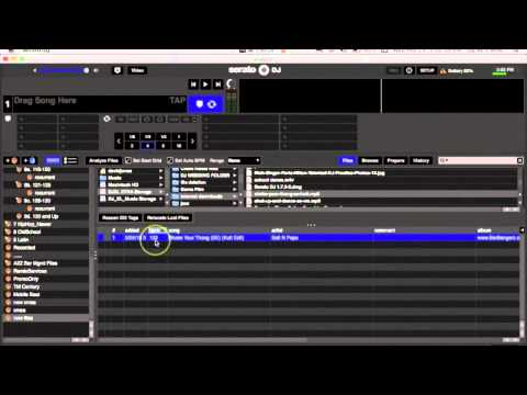 DFW DJ School: Serato DJ Tips - How to add music to your library
