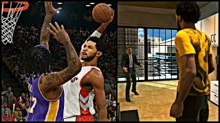 Nba 2k15 mycareer - cam bouta get a max contract thoooo ! | bounce brothers destroy the lakers !