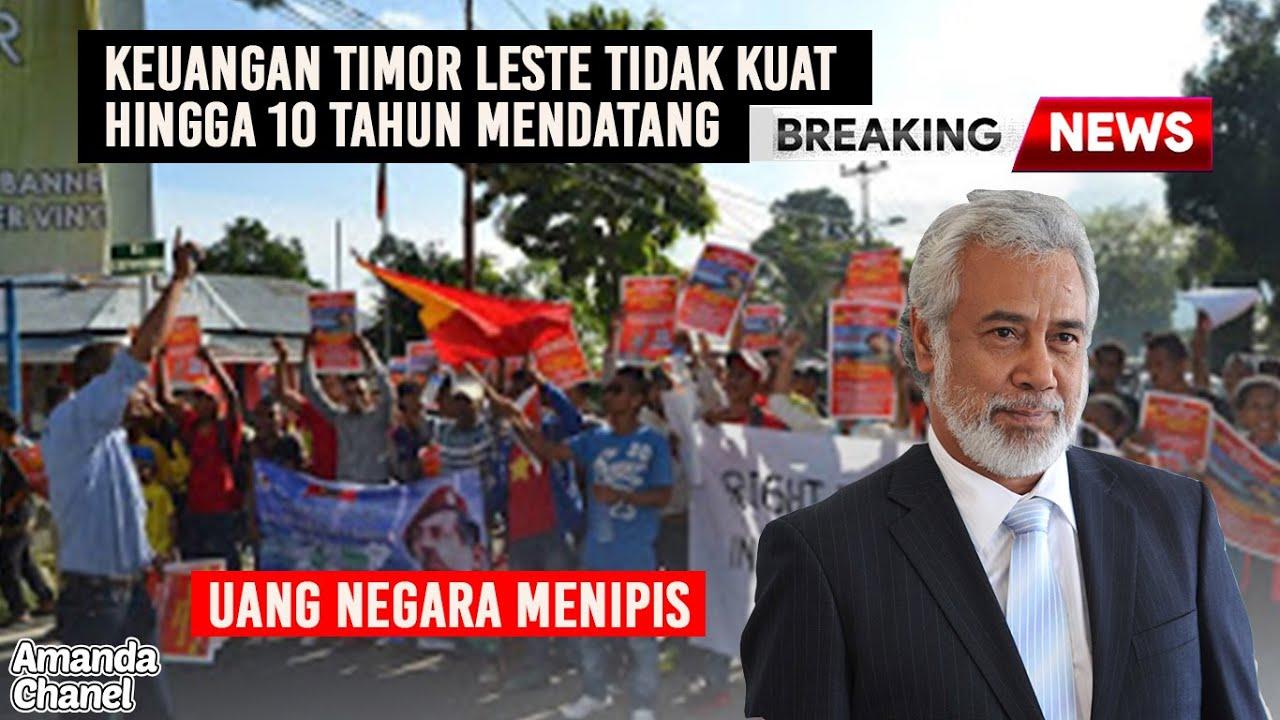 Timor Leste Akan Bangkrut Kurang Dari 10 Tahun Mendatang ~Tak Bisa Bertahan Dari Kemiskinan☑️