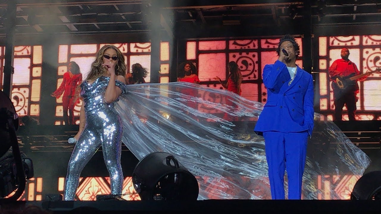 Beyoncé and Jay-Z - Family Feud / Upgrade U On The Run 2 Seattle,  Washington 10/4/2018
