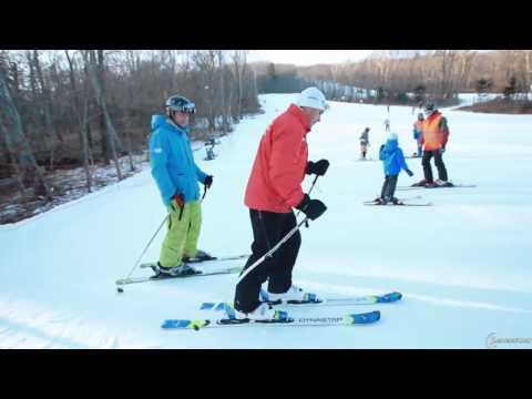 урок №1 Горнолыжная школа - первые шаги на горнолыжном склоне