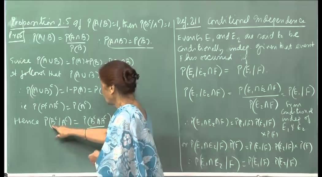 Mod-01 Lec-04 Random variables, cumulative density function, expected value