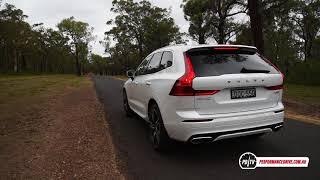 2018 Volvo XC60 T8 (hybrid) 0-100km/h & engine sound