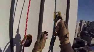 Travaux sur cordes