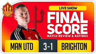 GOLDBRIDGE! Manchester United 3-1 Brighton Match Reaction