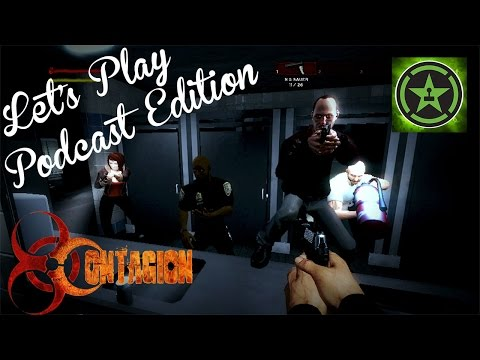 Let's Play - Contagion - The Rooster Teeth Podcast Crew (Part One)
