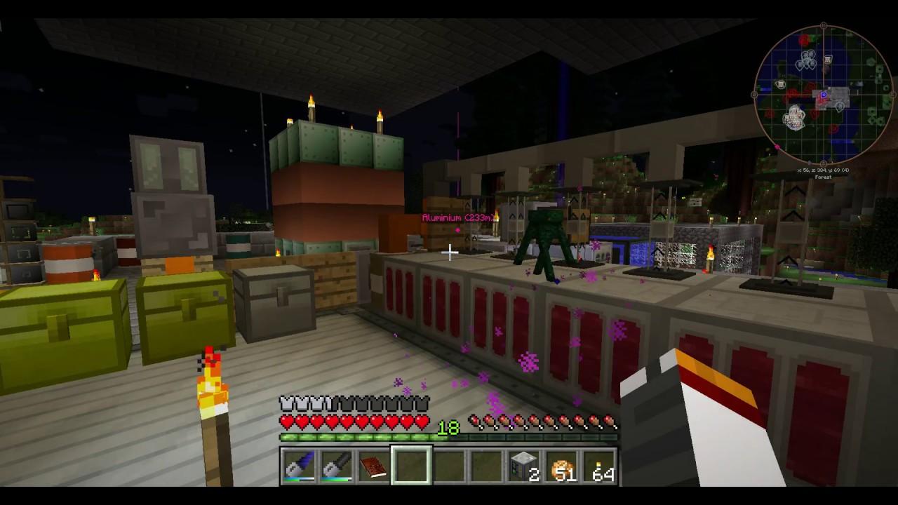 Minecraft Infitech 2 - Biogas Generator
