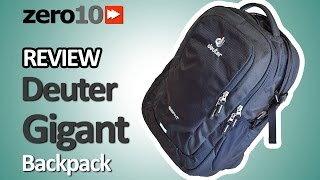 DEUTER GIGANT REVIEW [ZERO10]