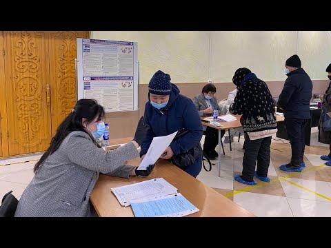 Явка на выборах в Кыргызстане за четыре часа составила 9,23%