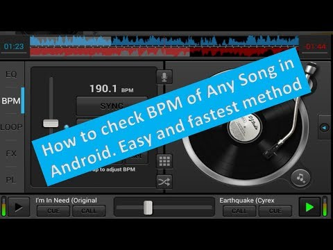 How to check BPM of Any Song in Android  Easy and fastest method