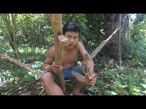 Primitive Technology: Stone Axe, Knife, Driller, and Hammer