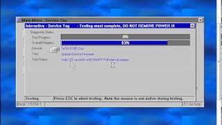 DELL SAS/SATA Hard Drive Firmware Utility
