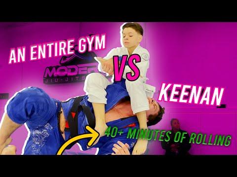 Keenan Cornelius vs Entire Gym - 40 rounds NO REST
