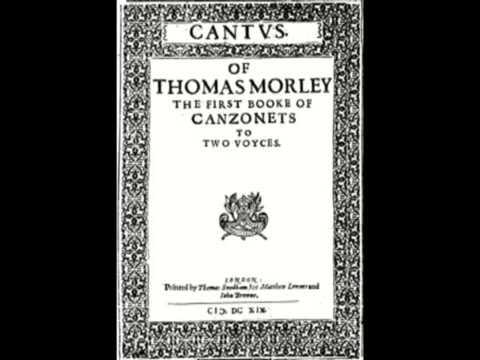 Thomas Morley - La Sirena, on recorder