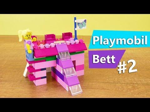 lego bett selber bauen prinzessinnen bett teil 2 leiter f r hochbett basteln rutsche. Black Bedroom Furniture Sets. Home Design Ideas