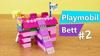 LEGO Bett selber bauen PRINZESSINNEN Bett (Teil 2) Leiter für Hochbett basteln & Rutsche vergrößern